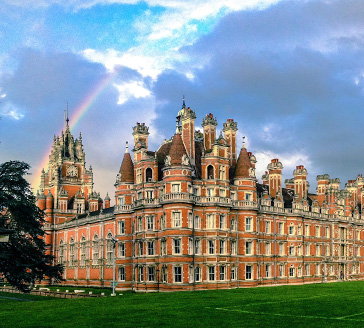 Founder's and rainbow. Photo taken by Will Chamberlin, 2nd year Geography